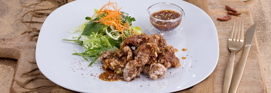 Fried Lamb with Spicy Soy Sauce : Kikkoman Europe