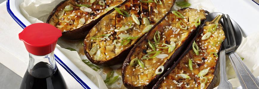 Image Gallery roast aubergine