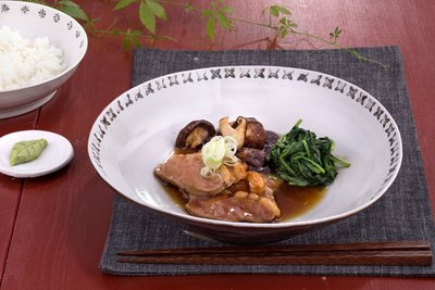 Braised Breast of Duck with Vegetables