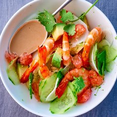 Shrimp mayonnaise with Ponzu sauce