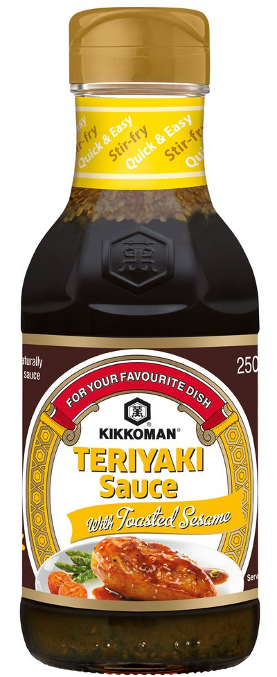 Teriyaki Sauce with Toasted Sesame