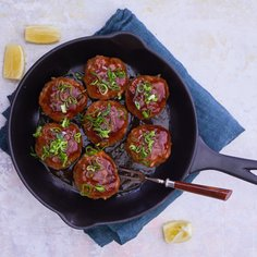 Japanese meatballs with ponzu