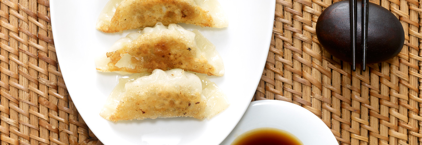 Gyoza - japanese pan-fried dumplings : Kikkoman Europe